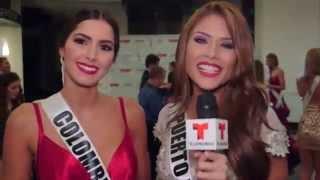 Colombia y Puerto Rico: Compañeras de Cuarto en el Miss Universo 2014