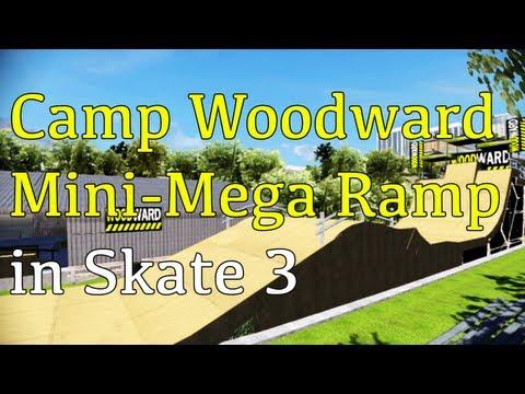 Camp Woodward Mini Mega Ramp in Skate 3 (w/Download)