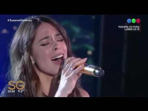 Oye Tini ft. Sebastián Yatra En Vivo Susana Giménez