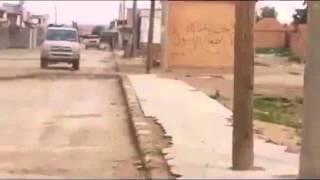 Guerra na síria cena forte carro alvejado
