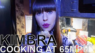 Kimbra Makes Bread & Butter Pudding - COOKING AT 65MPH Ep. 31