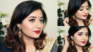 Indian Festive Makeup Tutorial : Red Lips | corallista