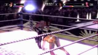 Rumble Roses XX Great Khan Ryona Destruction (1 HD)