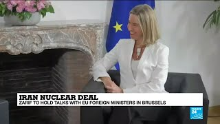Iran nuclear deal: Islamic Republic FM Zarif to hold talks with EU ministers in Brussels