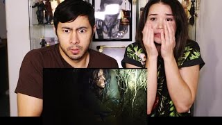 BLAIR WITCH Trailer Reaction by Jaby & Achara Kirk!