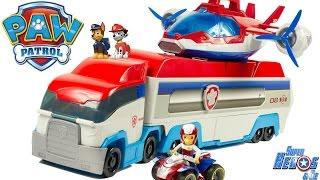 Jouet Pat Patrouille Camion Patrouilleur Paw Patroller Review Patrulla Canina Juguetes Toys for Kids