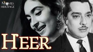 Heer 1956 Full Movie   Pradeep Kumar, Nutan   Bollywood Classic Movies   Movies Heritage