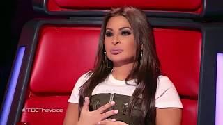 ذا فويس - أحمد عبد السلام - تسألنى - مرحلة الصوت وبس - احلي صوت The Voice