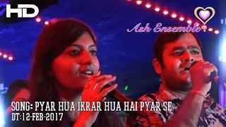 SuwarnaSaurabh - Pyar Hua Ikrar Hua Hai Pyar Se - Karaoke 12-Feb-2017