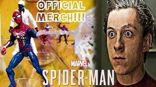 OFFICIAL SPIDER-MAN PS4 ACTION FIGURES REVEALED!!! MERCHANDISING BEGINS!!!