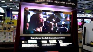 """Philips 21:9 Cinema TV Ultra Wide 56"""" LCD at Singapore MegaCourts Store"""