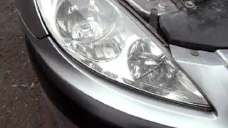 Wymiana żarówki H7 Peugeot