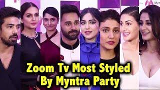 Zoom Tv Most Styled By Myntra Party Red Carpet | Adah Sharma, Aahana Kumra,Ankita Lokhande