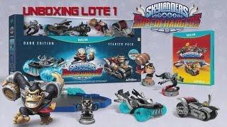 Skylanders Superchargers -Unboxing Lote#1- En Español HD 1080p