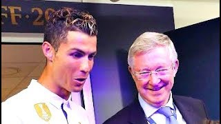 Alex Ferguson meets Cristiano Ronaldo after Real Madrid vs Juventus champions league final  3/6/2017