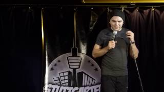 Jamie Wierzbicki 2. Platz Stuttgarter Comedy Clash Dezember 2016