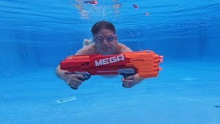 Can You Shoot with NERF Underwater ?