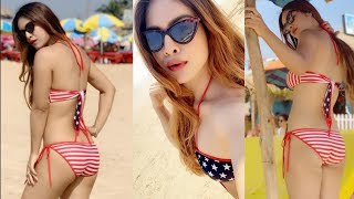 Neha Malik In Bikini Latest Video 2019
