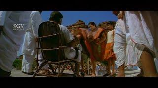 Police wife hit Babji for saying keep her | Kiccha Sudeep Best Scenes | Veera Madakari Kannada Movie