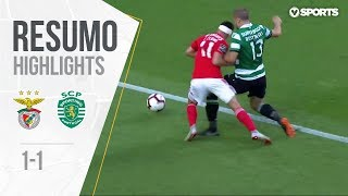 Highlights   Resumo: Benfica 1-1 Sporting (Liga 18/19 #3)