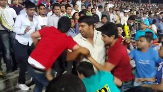 IPL-10 Public fight in RCB vs KXIP match 2017 ||HGS||