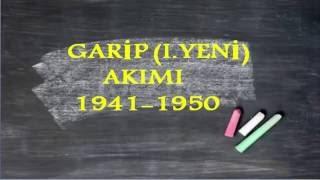 LYS Edebiyat  '' Garip (1.Yeni) Akımı ''