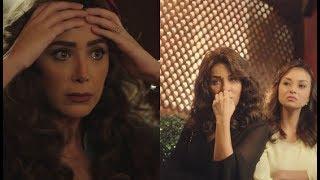 """أخيرا """" هانيا """" عرفت ان جوزها مخنهاش وانها كانت لعبة من خطيبها القديم #نصيبي_وقسمتك2"""