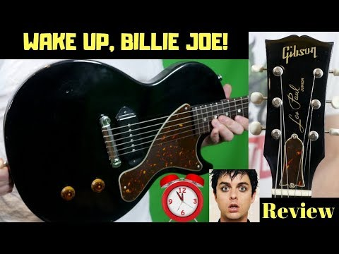 Xxx Mp4 Wake Up Billie Joe Day 2006 Gibson BJA Les Paul Junior P90 Black Review Demo 3gp Sex