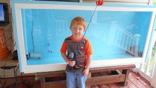 How To Make A Fish Aquarium 175 Gallons
