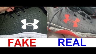Real Vs Fake Under Armour Sneakers. How To Spot Fake Under Armour