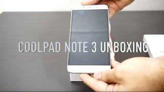 Coolpad Note 3 Unboxing/Camera & fingerprint sensor demo/Usb otg test.