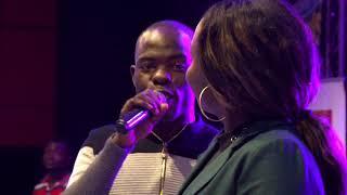 Rema Namakula and Chris Evans Kaweesi   performing linda live