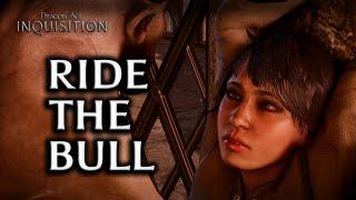 Dragon Age: Inquisition - Iron Bull Romance - Part 16 - Sex scene #1 Ride the Bull [F!Dwarf]