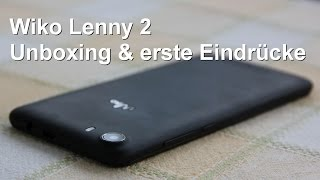 Unboxing und erste Eindrücke Wiko Lenny 2 - www.technoviel.de