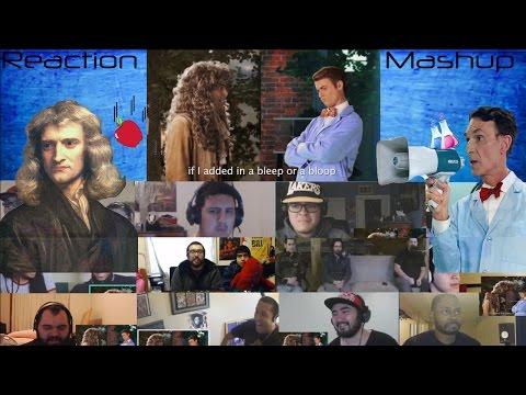 Sir Isaac Newton vs Bill Nye Epic Rap Battles Of History Reaction Mashups