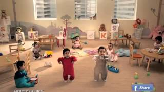 KIT KAT Dancing Babies|Ad India 2013 (Full Version)