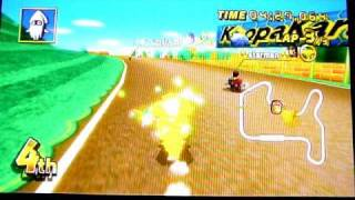 Mario Kart Wii  - Continental Race - N64 Mario Raceway - Trolling With Stars