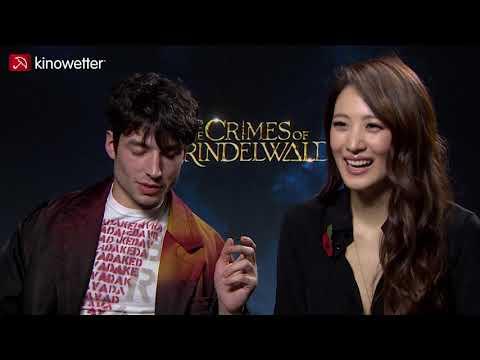 Xxx Mp4 Interview Ezra Miller Claudia Kim FANTASTIC BEASTS THE CRIMES OF GRINDELWALD 3gp Sex