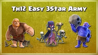 Easy 3 STAR ARMY= Best GiBoWi Attacks | TH12 War Strategy #62 | COC 2018 |