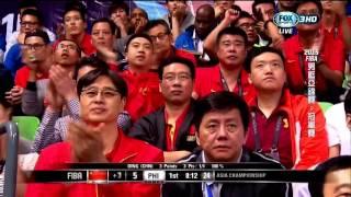 2015 10/03 男籃亞錦賽 總決賽 中國vs菲律賓 FIBA Asia  - China v Philippines