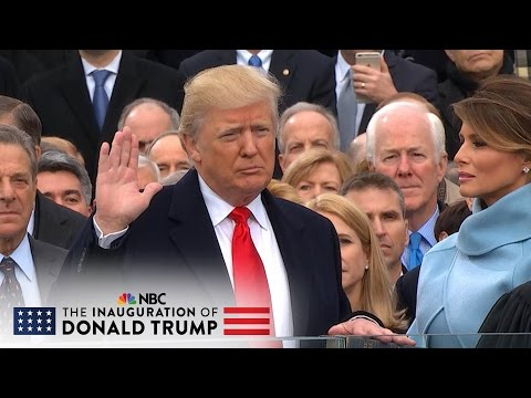 The 58th Presidential Inauguration of Donald J. Trump Full Video NBC News