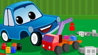 Zeek And Friends | Lets Build Car Song | Rhymes For Children
