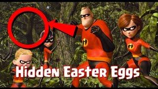The Incredibles Easter Eggs, Let's Find All Pixar's Hidden Secrets!