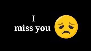 😢Miss you so much😢💝New Latest WhatsApp  Status 2019💝Deepika gadai