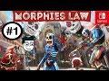 Morphies Law #1  Un Excelente Juego   Modo de Juego  Morficombate   Nintendo Switch