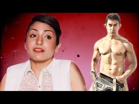 Anushka Sharma talks on Aamir Khan's NUDE PK POSTER