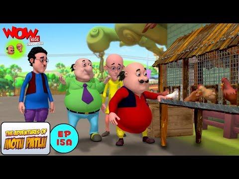 Peternakan Ayam  - Motu Patlu dalam Bahasa - Animasi 3D Kartun