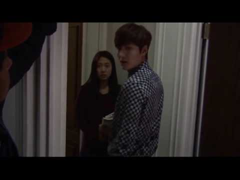 kiss empty-Lee min ho park shin hye cute and funny moment Heirs 상속자들 Special Making