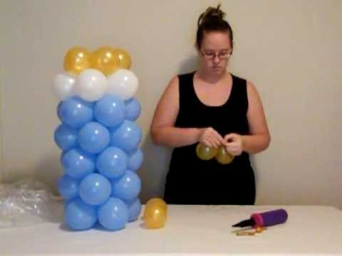 How to make balloon baby bottle