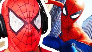 SPIDERMAN Plays SPIDER MAN PS4 - Spider man PS4 Gameplay Part 1 | Pungence